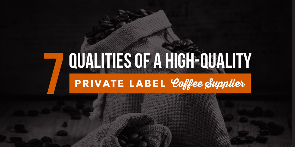 Private Label Coffee Packaging | Joe's Garage Coffee
