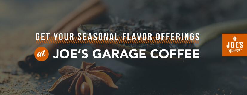 Get Your Seasonal Coffee Flavors